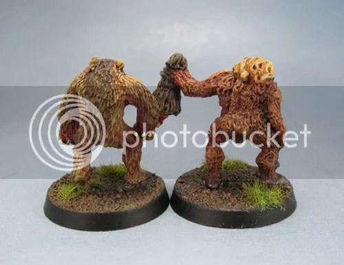 Citadel C18 Night Horrors - Werebear and Ape Man