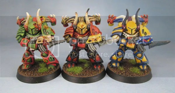 Space Crusade Chaos Marines.