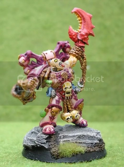 Noise Marine Emperor's Children Chaos Champion