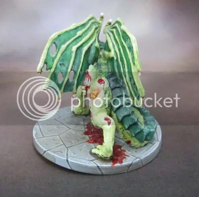 Catle Ravenloft Zombie Dragon