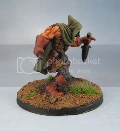 Reaper Miniatures 03278: Rogan, Half-Orc Thief 77224 Rogue