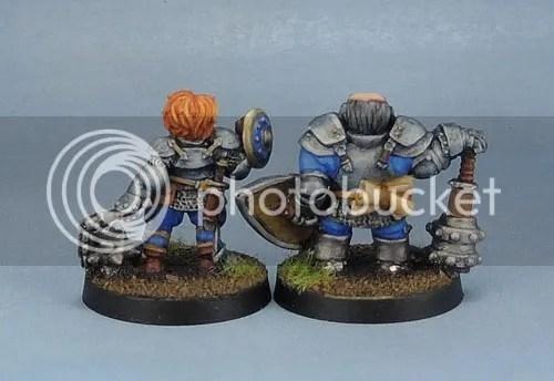 Stonehaven Dwarf Fighter, Stonehaven Dwarf Paladin