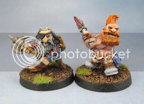 Bugman's Dwarf Rangers RRD01, 'Owd' Tom Thyksson, Troll Slayer