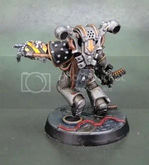 Converted Iron Warriors Chaos Space Marines