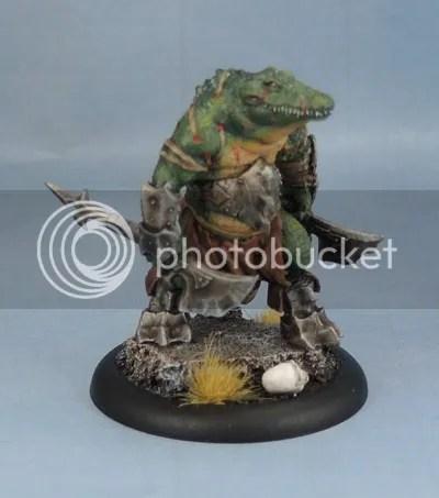 Ashoka, Hell Dorado, Crocodileman