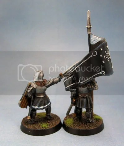 Citadel Miniatures Warriors of Minas Tirith Captain and Standard