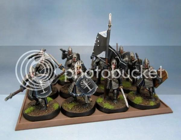 Citadel Miniatures Warriors of Minas Tirith Spearmen