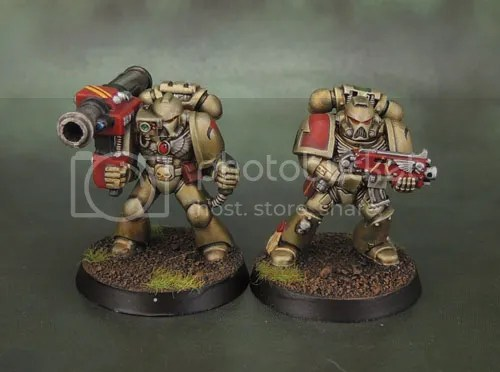 2e Space Marine Missile Launcher, AOBR Tactical Marine, Minotaurs Space Marines