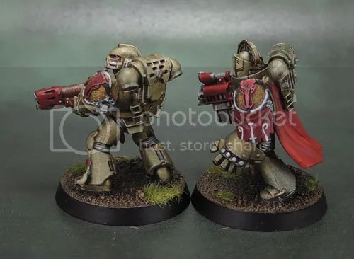 Minotaurs Space Marines, Forge World Minotaurs Shoulder Pad, Anvil Industry Vanguard, Puppetswar Temistokles