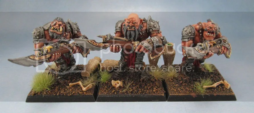 Mantic Ogre Shooters