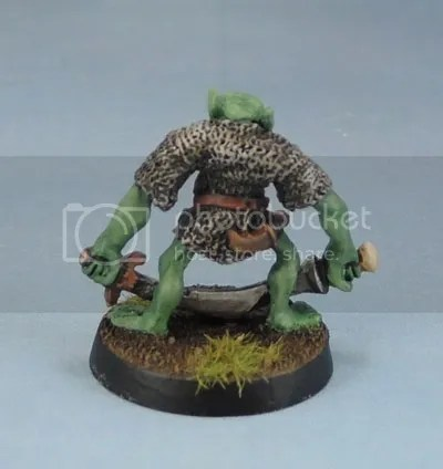C15 Orc Cyclops, Fangor Gripe, Chieftain of the vile Rune Orcs.