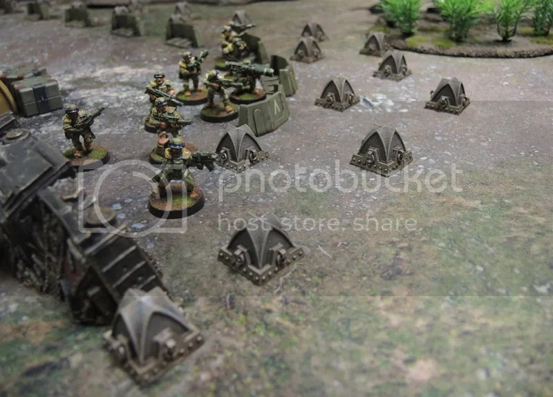 40k Dragon's Teeth Tank Traps