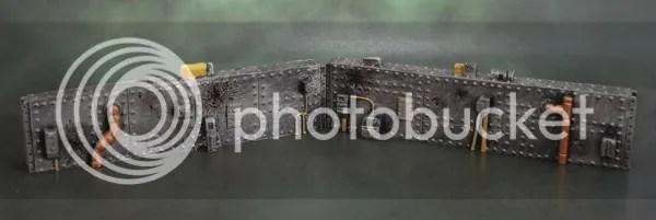 Armorcast Short Sci-Fi Walls 4