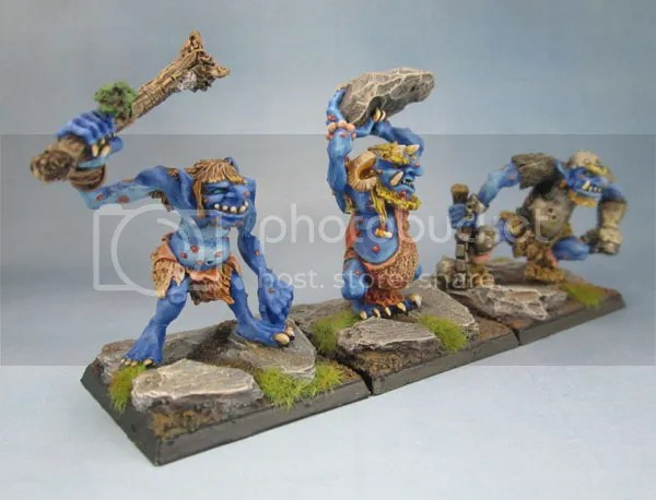 C20 Hill, Stone and Warrior Trolls