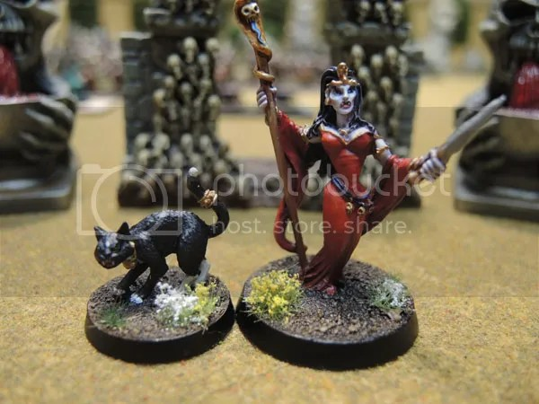 Neferata and Bastet