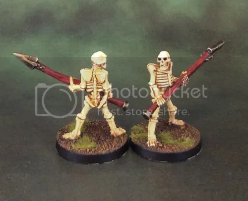 Celtos Fir Bolg Skeleton Spearmen