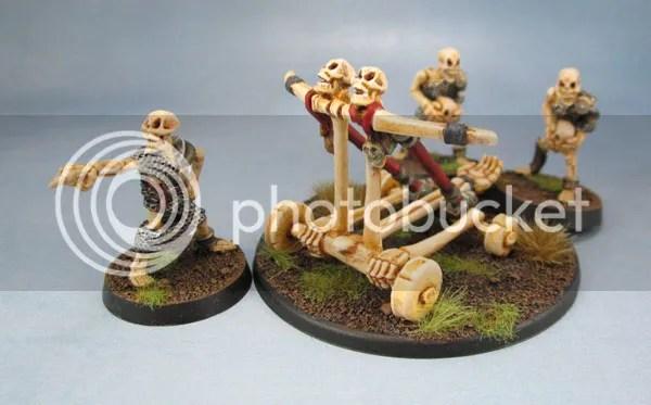 MD8 Skull Chucker, Oldhammer Undead, Skeleton War Machines