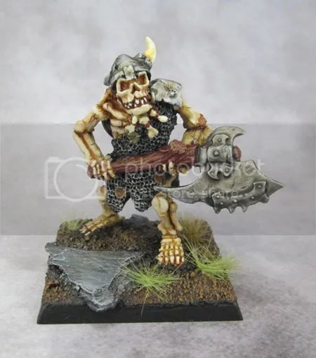 Ral Partha Europe, Das Schwarze Auge, Undead Ogre - Club - converted