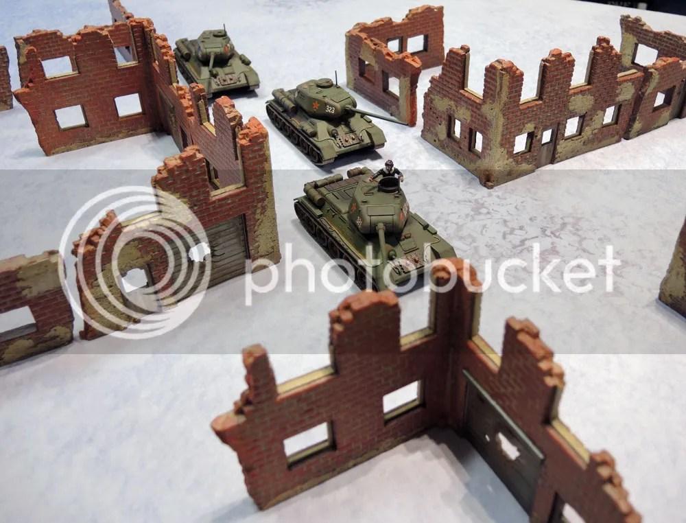 Urbanmatz' 6'x4' Snow Territory Game Mat, Bolt Action