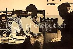 Pedro Aguinaga no set ao lado de Geraldo Gonzaga e Ségio Panta - CLIQUE PARA AMPLIAR ESTA FOTO