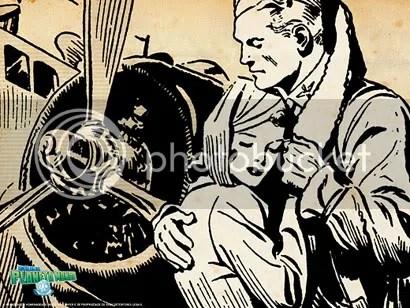 Flash gordon abraça sua amada, Dale Arden - CLIQUE AQUI PARA FAZER O DOWNLOAD DESTE WALLPAPER