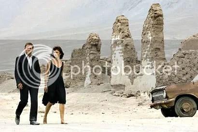 James e Camille no deserto - CLIQUE PARA AMPLIAR ESTA FOTO