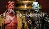 Hellboy e Abe - CLIQUE PARA AMPLIAR ESTA FOTO