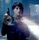 Selma Blair interpreta Liz, a namorada esquentada de Hellboy - CLIQUE PARA AMPLIAR ESTA FOTO