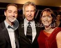 Shia LaBeouf, Harrison Ford e Karen Allen - Foto de Kristian Dowling - CLIQUE PARA AMPLIAR