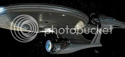 A Enterprise, do novo filme de J.J.Abrams - CLIQUE AQUI PARA AMPLIAR ESTA FOTO EM BOA RESOLUÇÃO