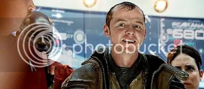 Simon Pegg é Scotty - CLIQUE AQUI PARA AMPLIAR ESTA FOTO EM ÓTIMA RESOLUÇÃO