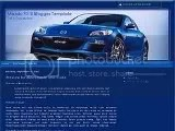 free   blog template Mazda RX-8