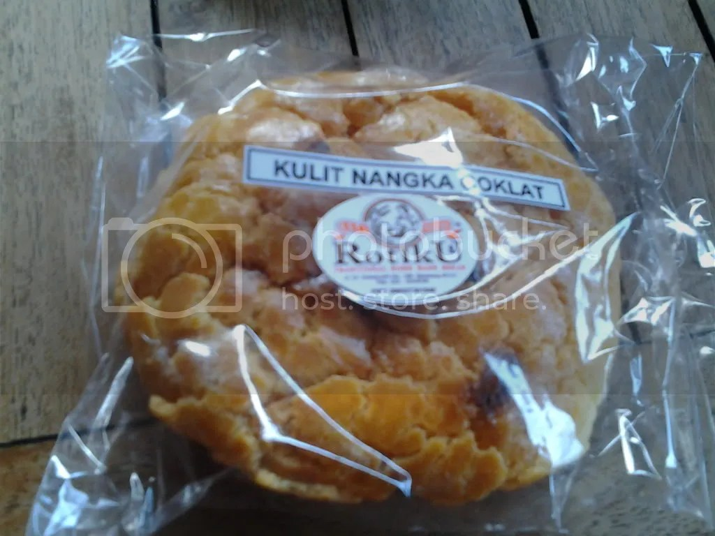 Roti Kulit Nangka Coklat (Rp 5.500)