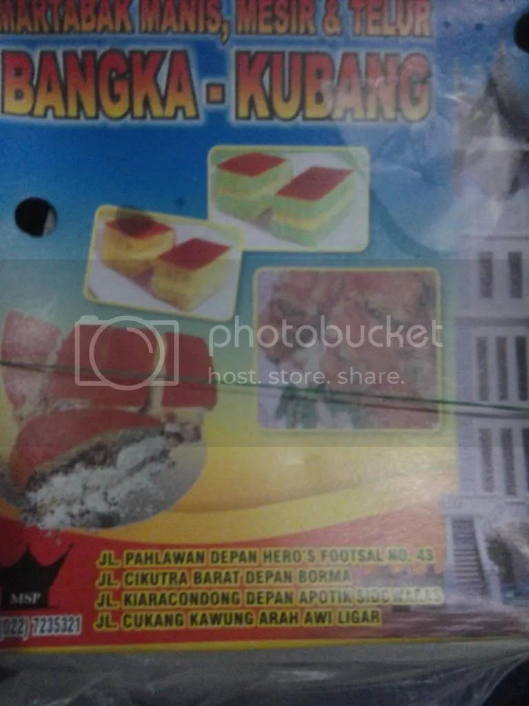 Dus Martabak Bangka-Kubang