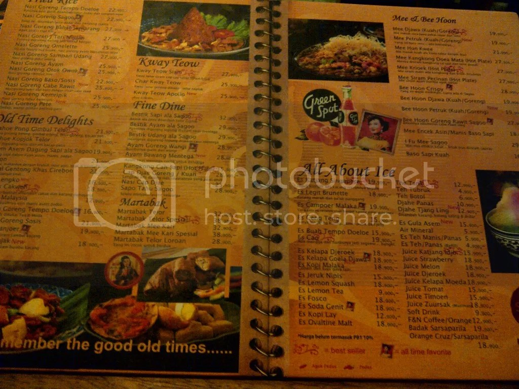 Menu Sagoo Kitchen