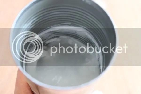 liquid left in can