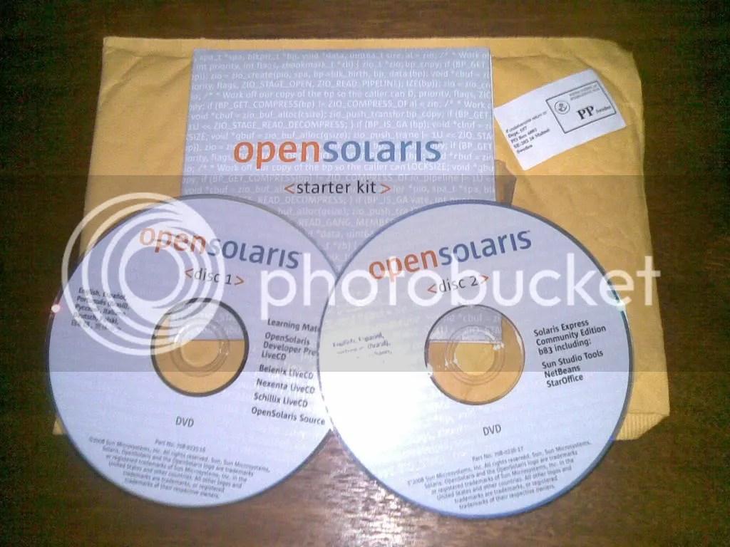 OpenSolaris Starter Kit