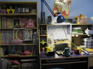 This is the more...presentable part of my room. IMPRESSED YET?! Oh, and click on the pictures for a bigger version.