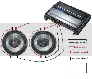 How To Wire A Dual Voice Coil Sub To A 2 Channel Amp