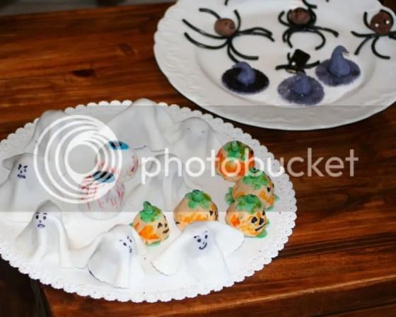 ragni fantasmi zucche occhi di mostro di halloween