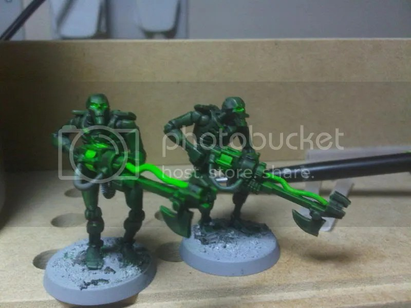 Necrons: Glowy Bits Test 2! - THE VANUS TEMPLE