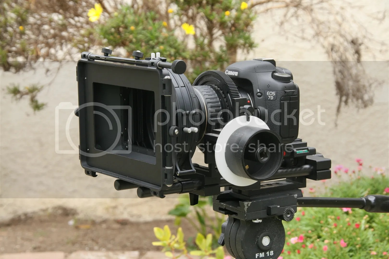 shoot35,matte box,cinebox,black,dslr,canon,7d,indifocus pro,Indisystem