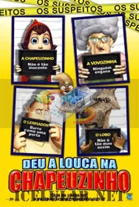 Download de Hoodwinked (Deu a Louca na Chapeuzinho) [248x144] para celular / to mobile device