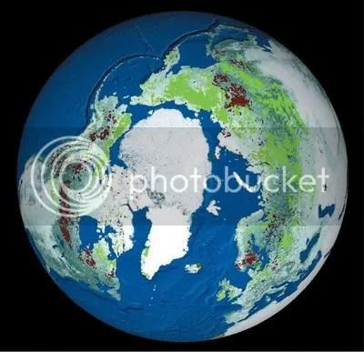 Arctic vegetation extent