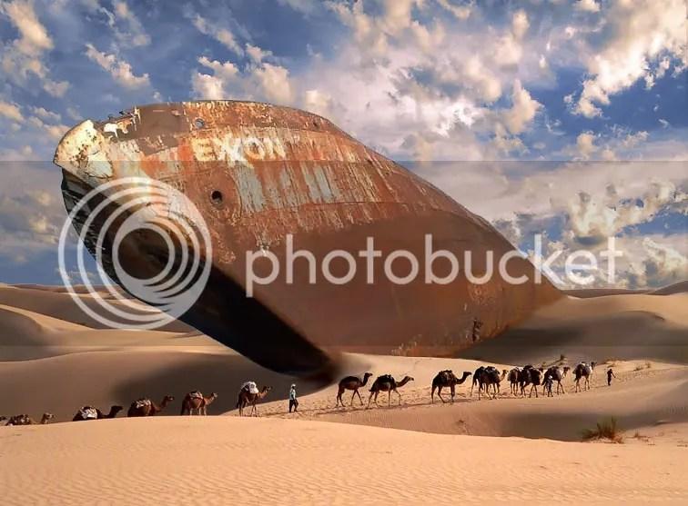 Exxon Desert Tanker