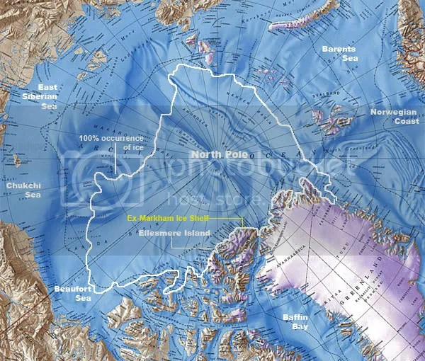 Markham Ice Shelf overview