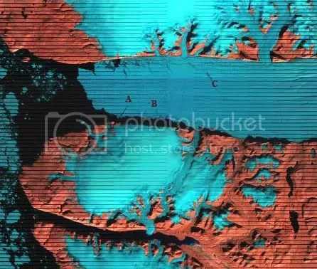 Peterman glacier triptych