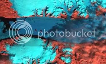Peterman glacier triptych 2