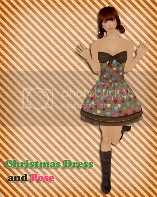 {Bingo} Christmas Dress & Pose set