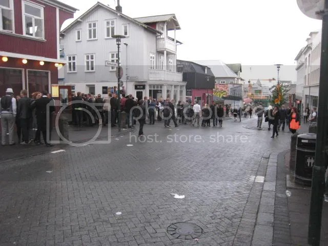Midnight Viking Girls in Reykjavik Iceland